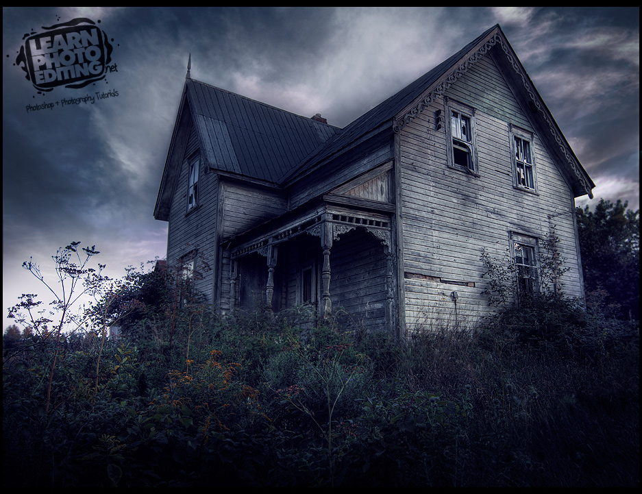 HDR Haunted House